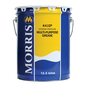 K42 EP 2 Grease 12,5 kg brun. Morris Lubricants