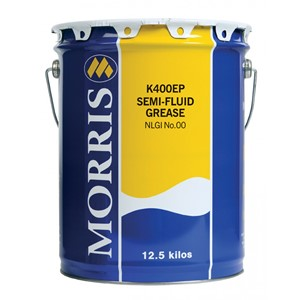 K400 EP 00 Semi Fluid Grease 12,5 kg. Morris Lubricants